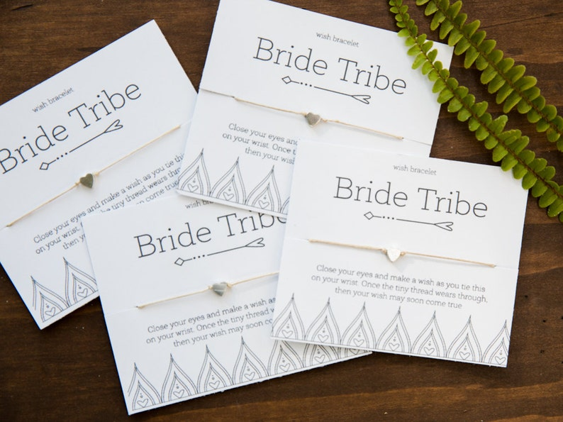 Bride Tribe Hen Party Bridesmaid Gift Bachelorette Favors image 0