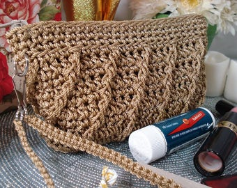 """Coin Purse PATTERN """"Whimsical"""" Design Crocheted Purse, change purse pattern, woman coin pouch, bestfriend gift, gift for her, accessory"""
