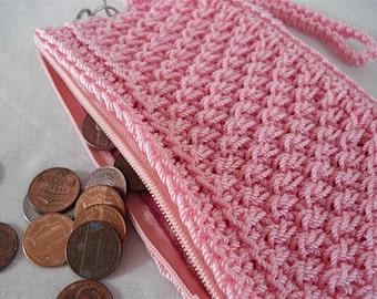 "Coin Purse PATTERN ""Wicker Weave"" design, change purse pattern, best seller, wicker purse, accessory, gift for her, bestfriend gift mom gift"