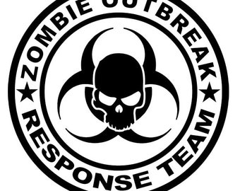 Zombie Decals, Zombie T-Shirts, Zombie Outbreak, Zombie Apocalypse, Decals and Skins, Walking Dead, Zombie