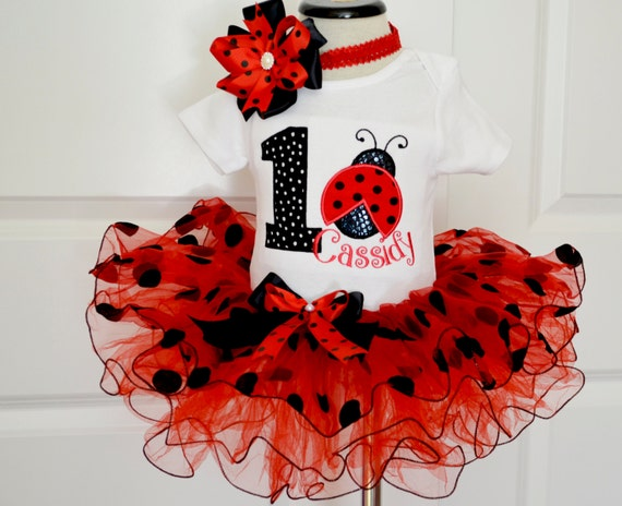 Ladybug Birthday Outfit