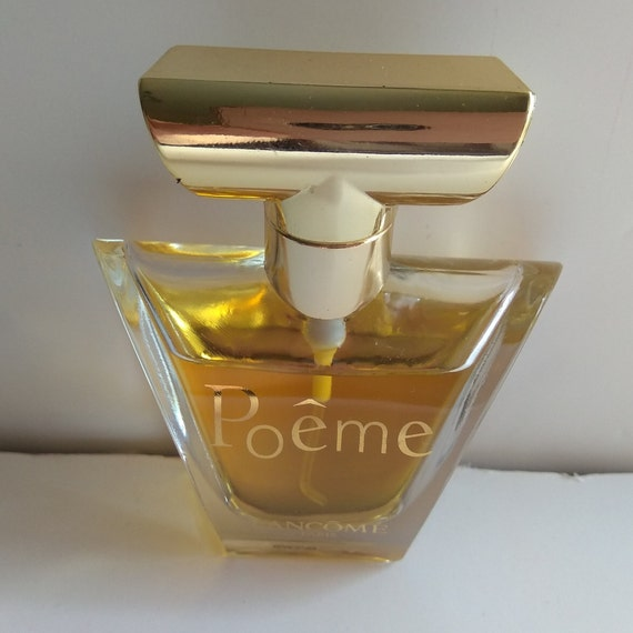 Lancome Poeme Bottle 30ml Eau De Parfum Spray Made In France