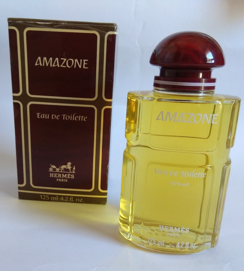 De Vintage Eau Bottle Toilette Hermes Paris 125 Splash Amazone Ml ARj3q54L
