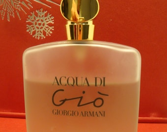 Authentic Giorgio Armani ACQUA DI Gio EDT Bottle 100 ml Natural Spray