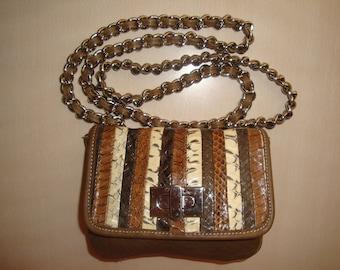 Amber Rose Genuine Leather Cross Body / Shoulder Bag