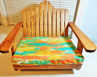 The WOOD Adirondack Chair Bed For KITTY