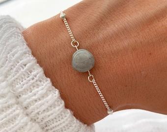 Kinetic Labradorite Chain Bracelet