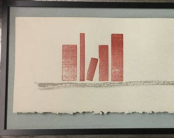 The Bookshelf: Letterpress printed