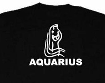 Aquarius T-shirt Zodiac Astrology Birthday Tee Shirt
