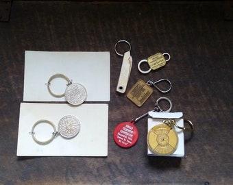 Vintage Advertising Keychain Key Chain Key Ring Visa Credit Card Barclaycard Novelty Shaped 1980/'s
