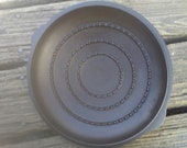Unmarked Wagner Ware cast iron chicken fryer skillet lid only. Nice.