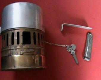 Vintage SVEA 123 backpack Petrol camp stove, Made in Sweden.