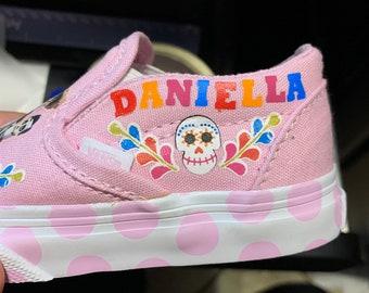c6a7c140442d Custom Pixar Coco Kids Vans Shoes