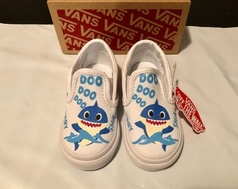 Baby Shark Shoes Etsy