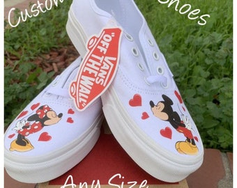c6f1bd35d84601 Mickey Mouse Kids Vans Custom