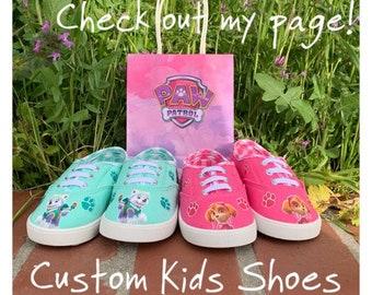 babbdddf2deab8 Paw Patrol Kids Custom Shoes