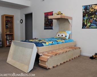 Dozer Bed Plans
