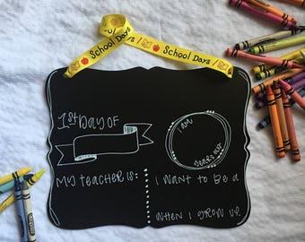1st day of school chalkboard, 1st day of school sign, first day of school chalkboard, first day kf school sign, back to school chalkboard si