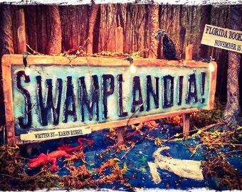 "Swamplandia 11"" x 17"" Book Art Poster"
