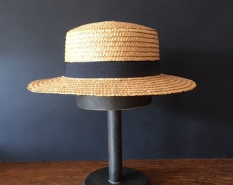 425f7fdda Large straw hat | Etsy