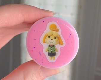 Isabelle Phone Thingy - Animal Crossing - AC Villager