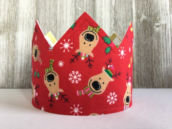 Christmas Crown Reindeer Christmas Hat Stocking Stuffer Ideas Children Christmas Gifts Ideas Winter Party Hat Winter Birthday Crown