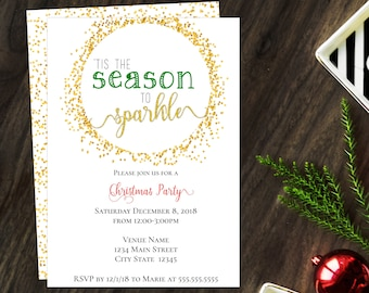 Seasonal Invitations