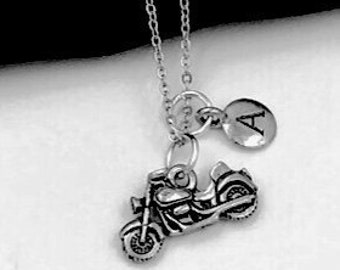 Motorcycle Necklace, Biker Jewelry Gift, Bike Necklace, Bike Jewelry Gift, Sports Necklace, Women's and Girls Popular Necklace, Personalized