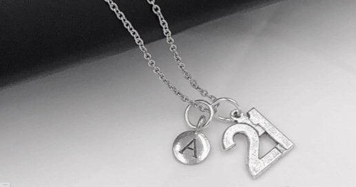 Womens Birthday Party Gift Idea Personalized Initial Jewelry Gallery Photo