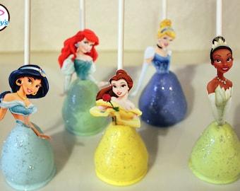 Disney Princess Themed Gourmet Cake Pops