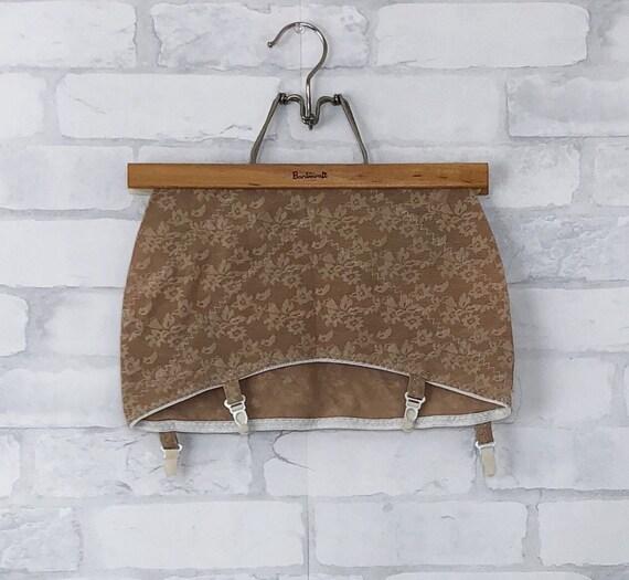 Vintage MARKO Garter Belt Girdle Beige