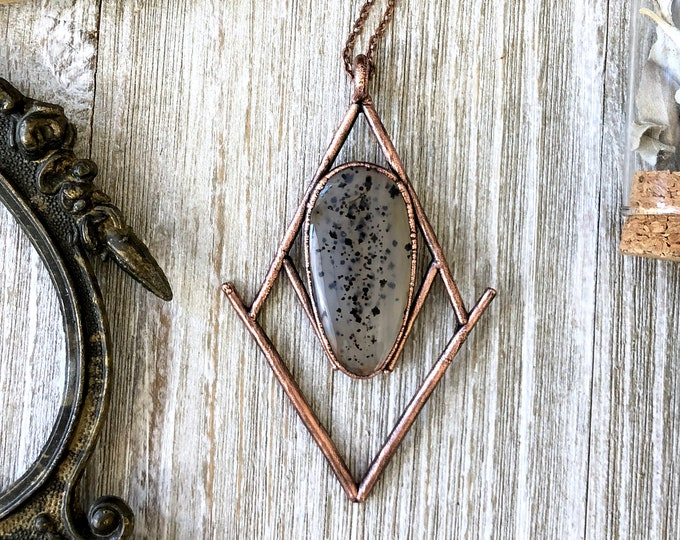 Montana Moss Agate Necklace