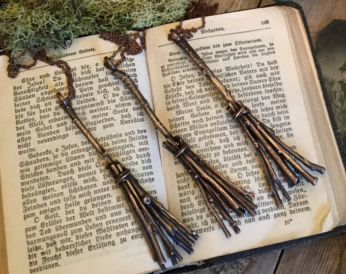 Witch Broom Necklace Broomstick Necklace Pendant Charm