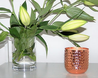 Calm Copper Luxury Candle