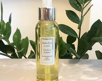Gardenia and Amber Nourishing Body Oil