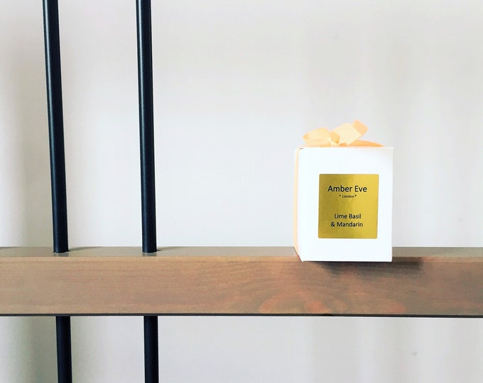 Lime Basil & Mandarin Small Scented Candle