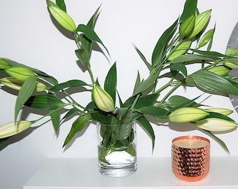 Pear & Freesia Copper Luxury Candle