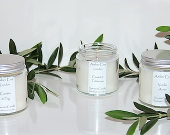 Sweet Fig Candle with a silver lid