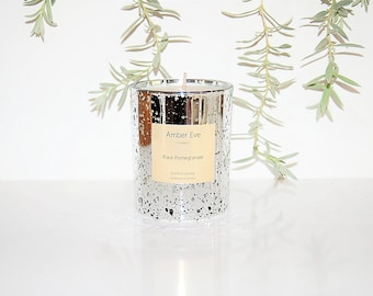 Black Pomegranate Luxury Candle