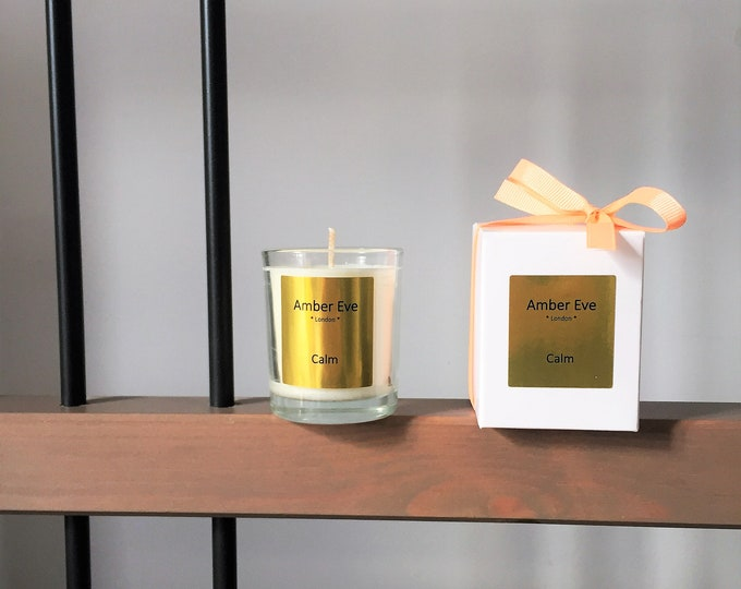 Calm Small Scented Candle