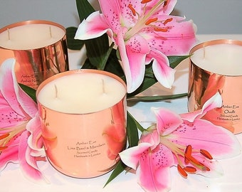 Vanilla Anise Copper Luxury Candle