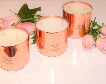 Bois Copper Luxury Candle