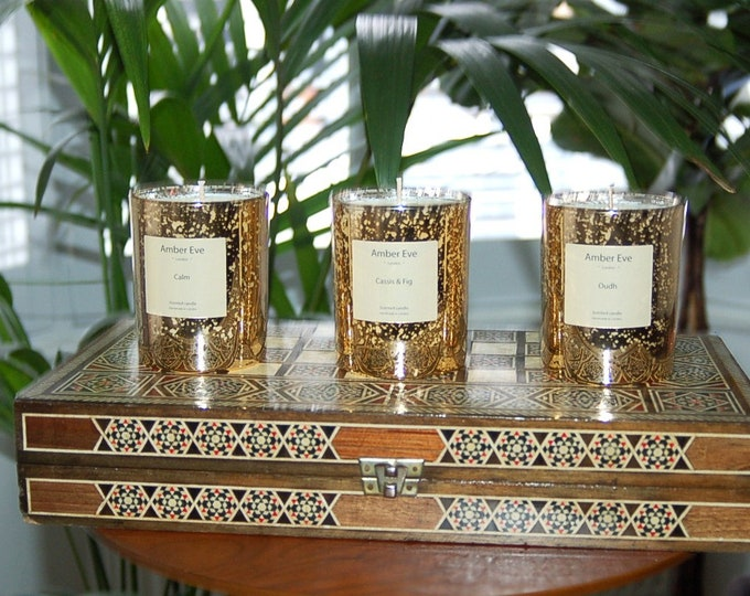 Cassis & Fig Luxury Gold Candle