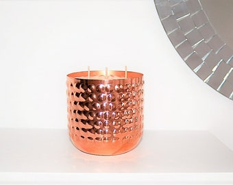 Myrrh & Tonka Bean 3 wick Copper Candle