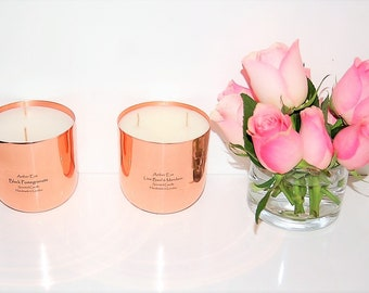 Pink Grapefruit Copper Luxury Candle