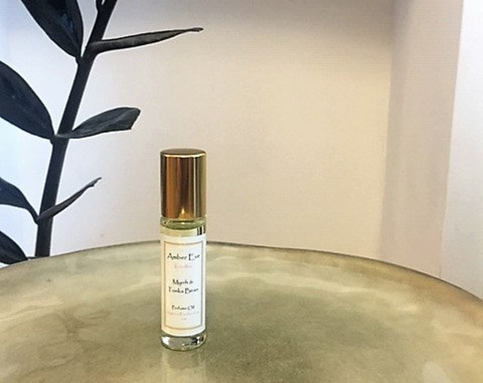 Myrrh & Tonka Bean Perfume Oil
