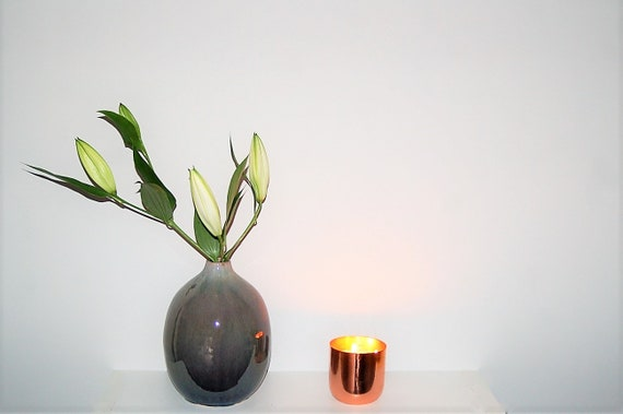 Cassis & Fig Copper Luxury Candle