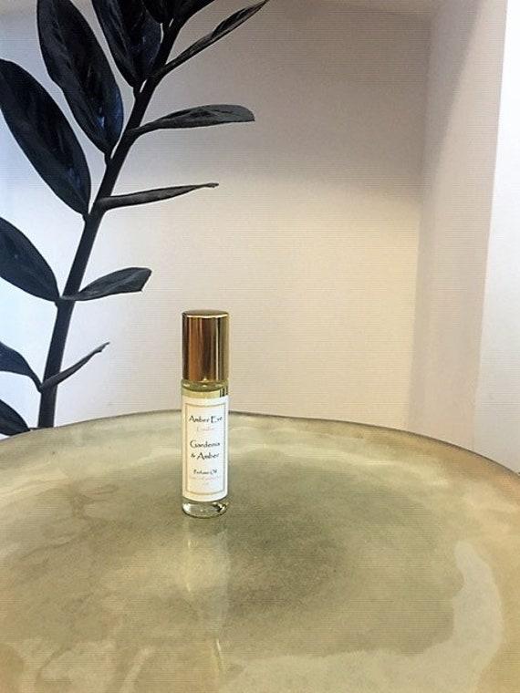 Gardenia and Amber Perfume Oil