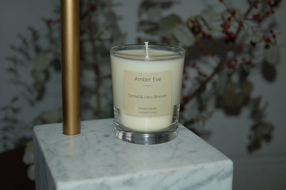 Orchid & Lotus Blossom Scented Candle