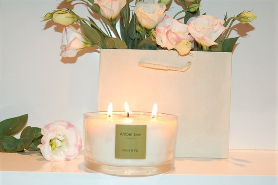 Cassis & Fig 3 Wick Candle